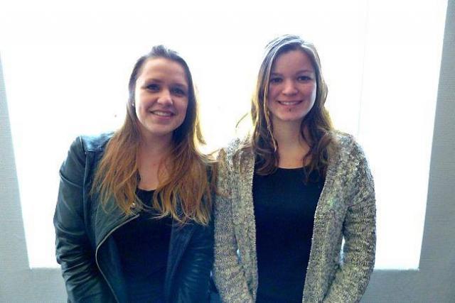 Mathilda Audren et Mathilda Le Maigat