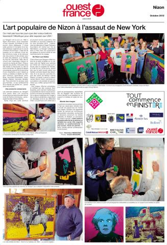 Page spéciale New York 2012 (Ouest France)